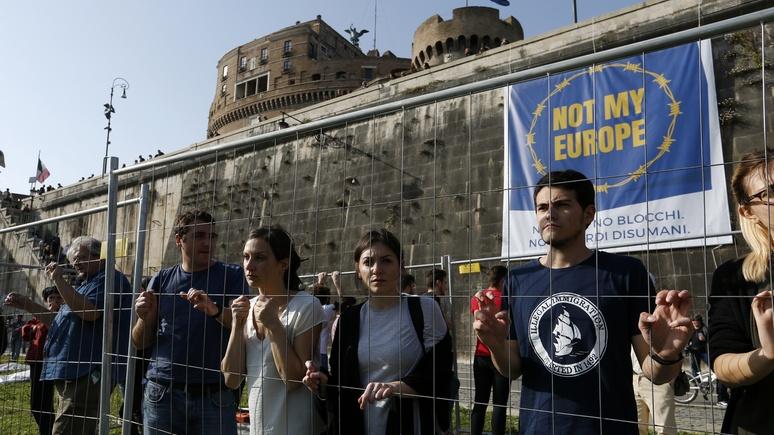 DWN: ЕС рискует споткнуться о новое правительство Италии