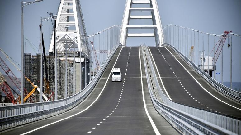 Daily Telegraph: Крымский мост стал для Путина символом победы