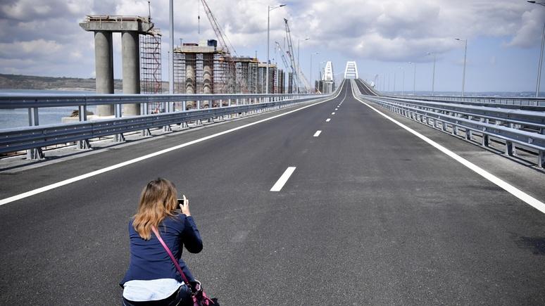 Rheinische Post про Крымский мост: Путин воздвиг себе политический памятник
