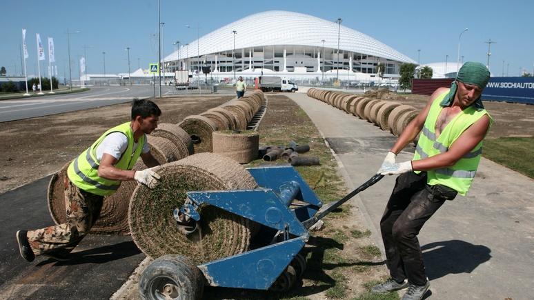 Welt: россияне возлагают на футбольную «летнюю сказку» слишком большие надежды