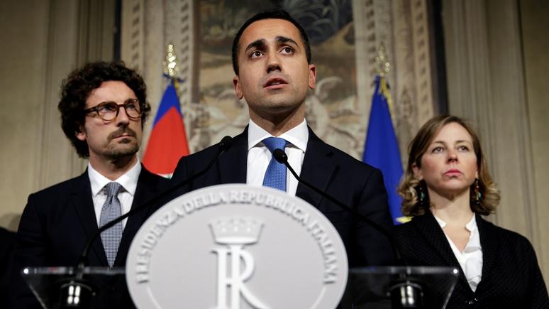 DWN: новое правительство  Италии будет настаивать на отмене антироссийских санкций