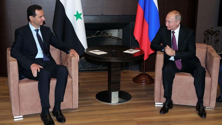 RFI: визит Асада в Россию снова стал нежданным, но не случайным