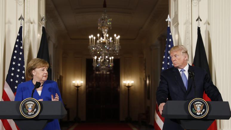 Washington Post: трансатлантический альянс Европы и США трещит по швам