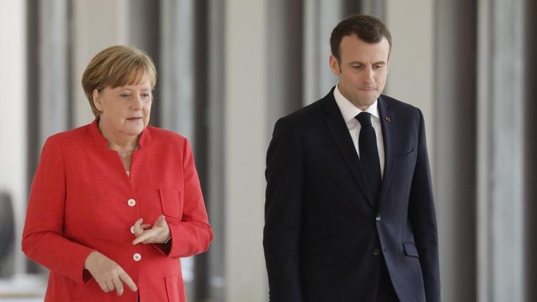 FT: Путин может наслаждаться моментом — Меркель и Макрон прокладывают путь к его двери