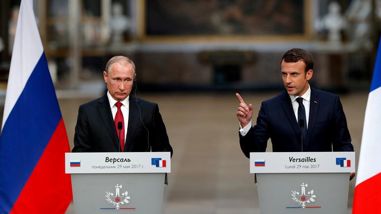 «Корректный по форме, но твёрдый по содержанию» — Le JDD рассказал, каким будет визит Макрона в Россию