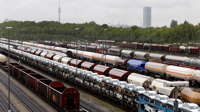 FAZ: высокоморальная Германия не стесняется торговать с Россией и Китаем