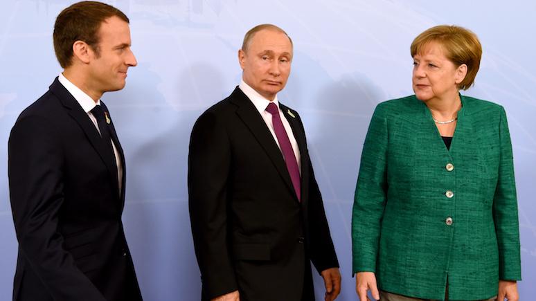 Wyborcza: на виду у всего мира Путин «вербует» европейских лидеров