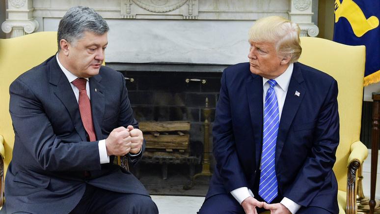 «Грязная сделка»: BBC узнал, сколько Киев заплатил за встречу Трампа с Порошенко