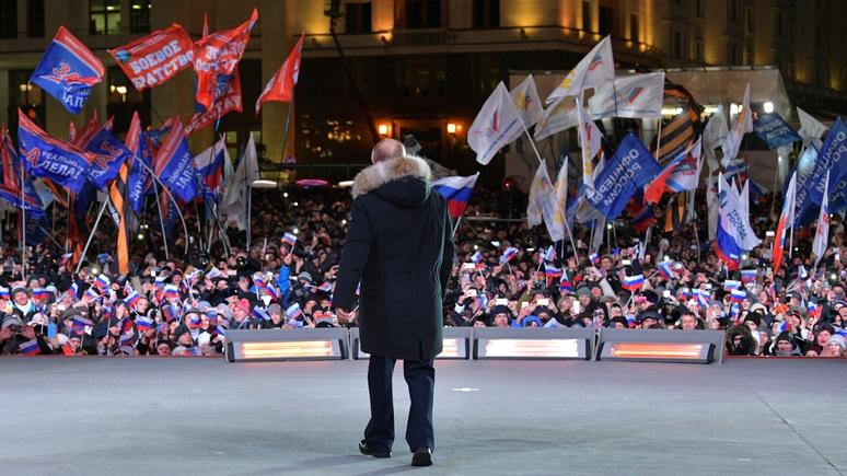 Guardian: если Путина нельзя победить, с ним нужно сотрудничать