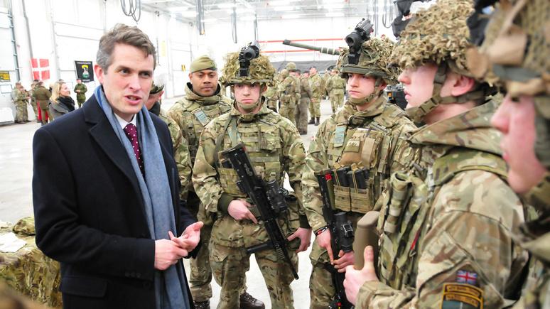 DM: британский глава Минобороны призвал вложиться в армию ради ответа на «российскую агрессию»