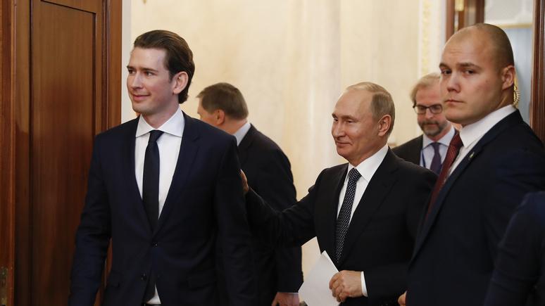 Die Presse: санкции США загнали австрийский бизнес в «патовую ситуацию»