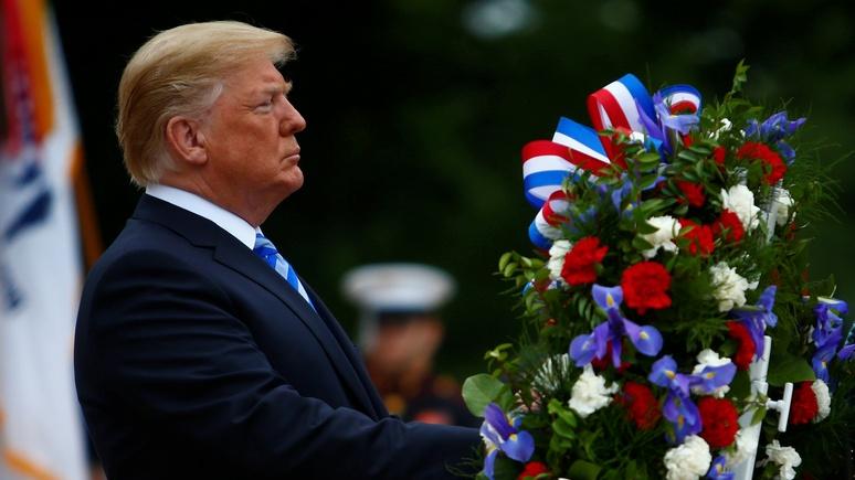 Politico: даже в День поминовения Трамп не забыл о «российском расследовании»