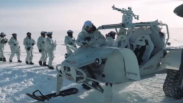 Drive: Россия напомнила о своём интересе в Арктике «голливудским» вездеходом