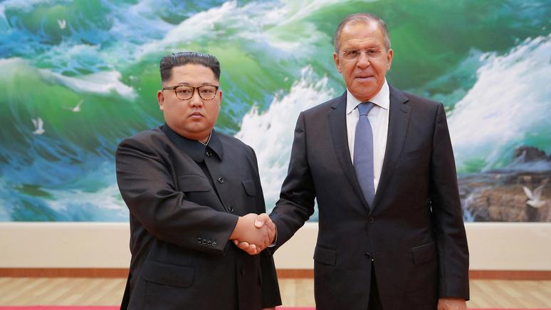 Independent: визит Лаврова в Пхеньян показал Западу, что с Россией придётся считаться