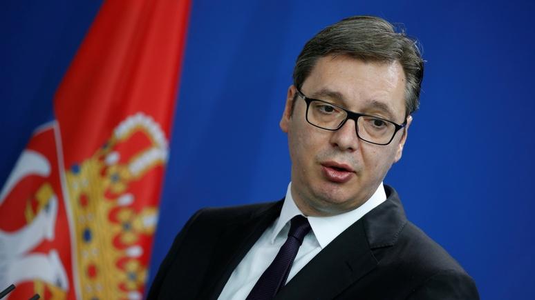Президент Сербии: наши европейские амбиции не противоречат дружбе с Россией