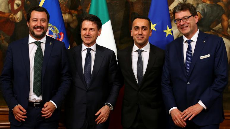 CNN: Италию возглавило правительство «популистов и евроскептиков»