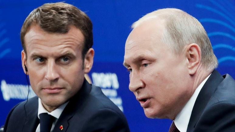 Le Monde: Макрон уповал на европейский Петербург, но Путин остаётся сыном Ленинграда