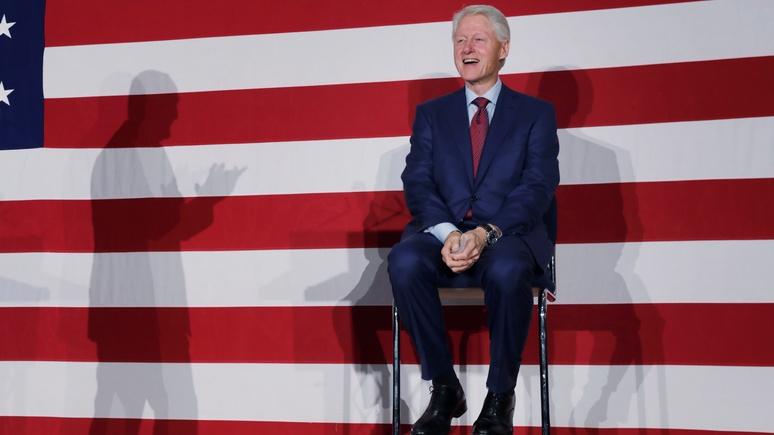 Le Parisien: Билл Клинтон рассказал, чем Россия вызвала его гнев