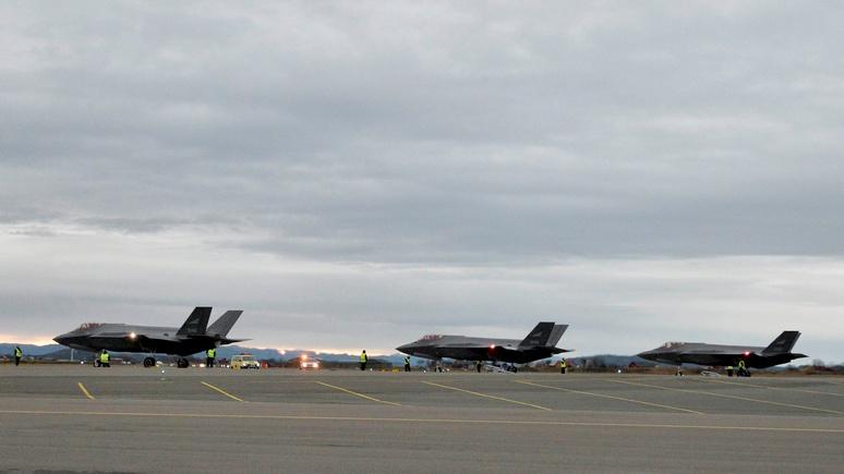 Times: всепогодные F-35 задержались в США из-за плохой погоды