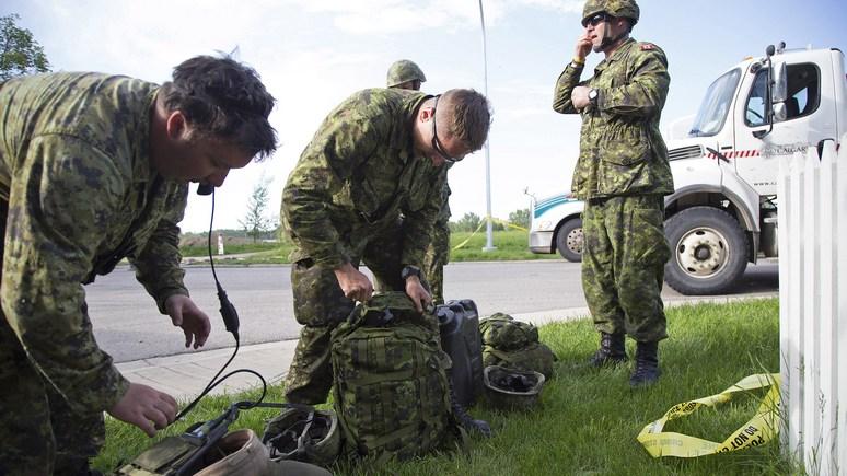 Армейский секонд-хенд: солдат в Канаде обязали сдать рюкзаки и спальники из-за их нехватки