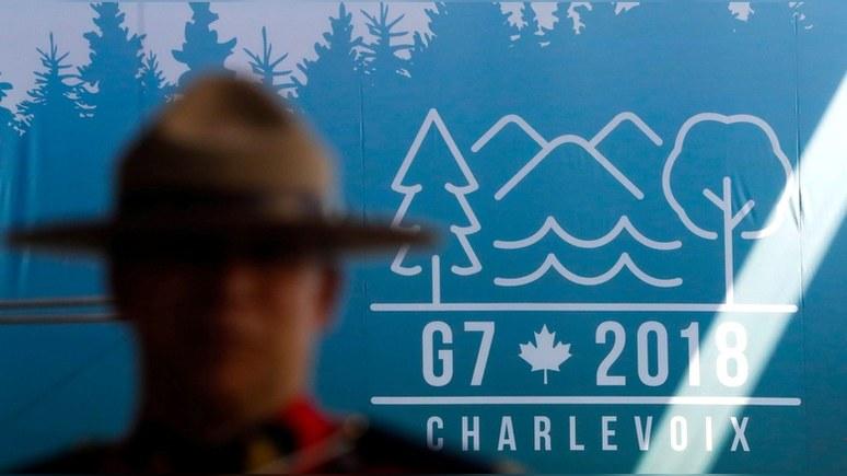 Guardian: Трамп едет на саммит G7 «ломать старые правила и альянсы»