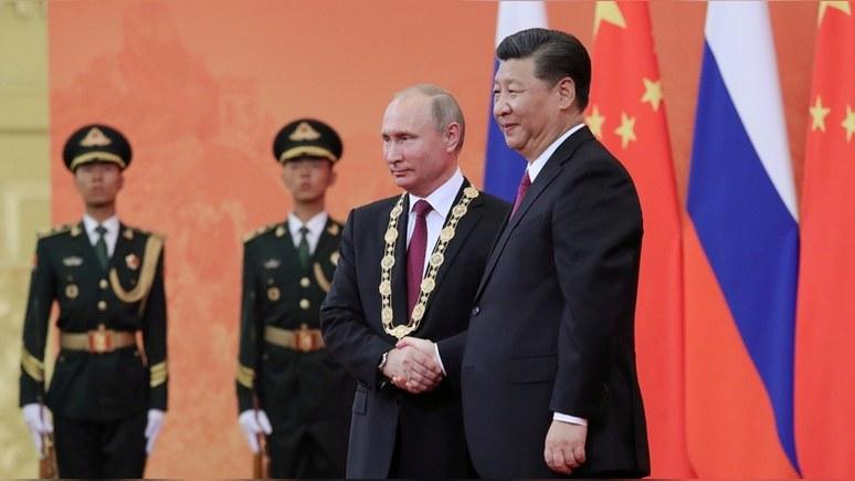 Independent: китайский лидер назвал Путина «лучшим и самым близким другом»