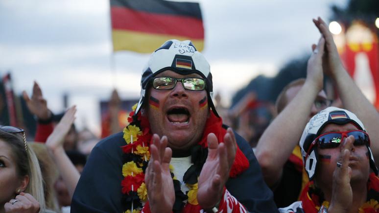 FAZ: интерес немцев к ЧМ-2018 обойдётся экономике Германии в несколько миллиардов евро