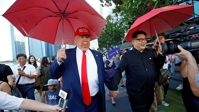 Time: Трамп уверен, что понять намерения Ким Чен Ына сможет всего за минуту