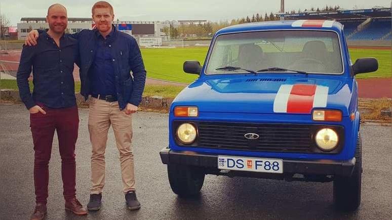 Yle: исландцы поехали на российский мундиаль на «Ниве» — с благословения президента