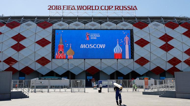 Главред: Украина вынуждена транслировать матчи ЧМ-2018 в России