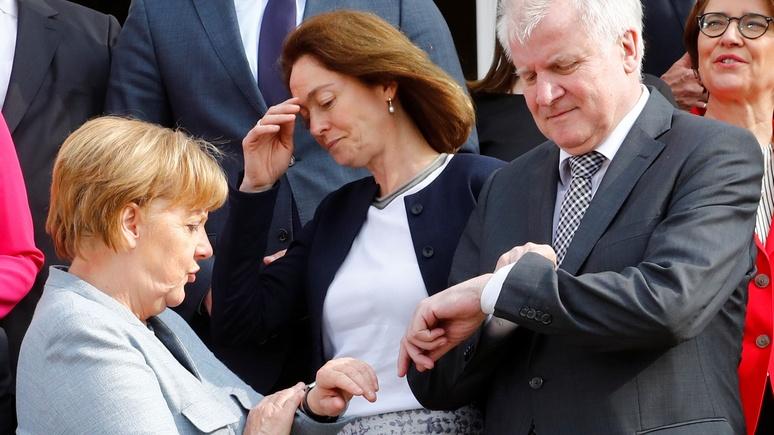 Welt: спор о мигрантах грозит поставить крест на карьере Меркель