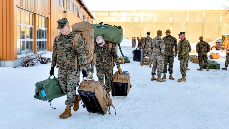 IBO: Россия считает, что американские морпехи в Норвегии дестабилизируют ситуацию