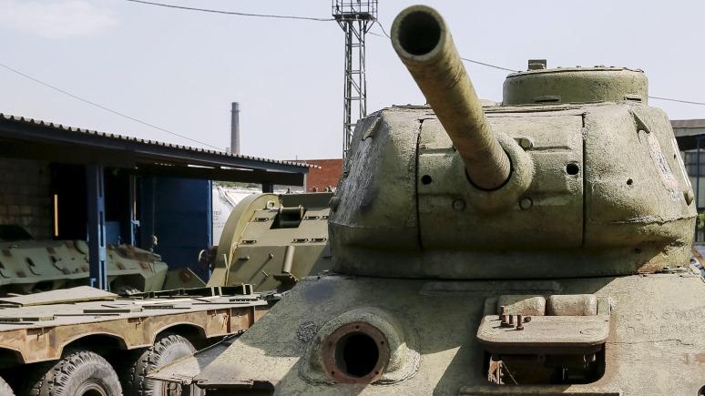 Ilta Sanomat: танк Т-34 на аукционе в Финляндии выкупили «для друга» под бурные овации