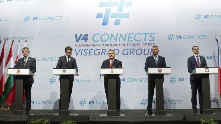 FAZ: Австрия и Вышеградская четвёрка сошлись во мнении, что Европу нужно защищать от мигрантов