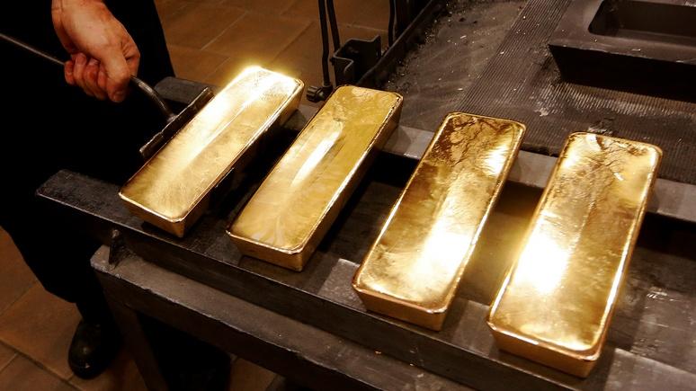 Contra Magazin: Россия предпочитает долларам золото, и она в этом не одинока