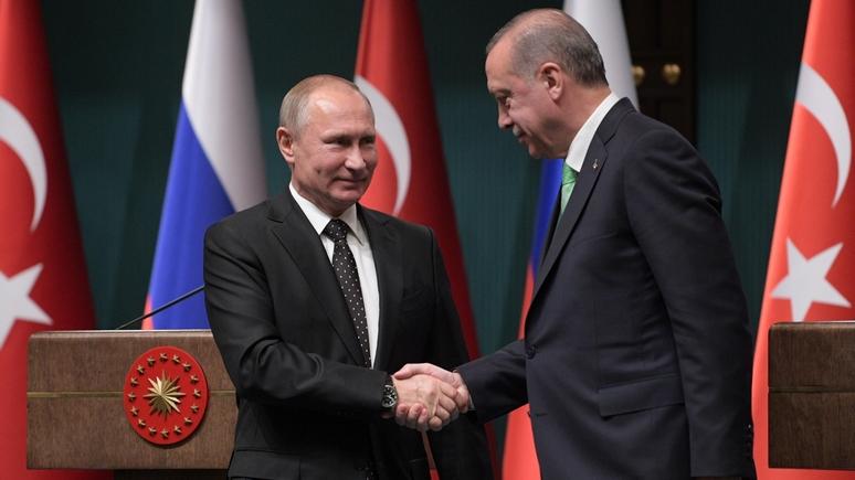 Times: Путин поспешил поздравить Эрдогана с победой в надежде отдалить Турцию от ЕС