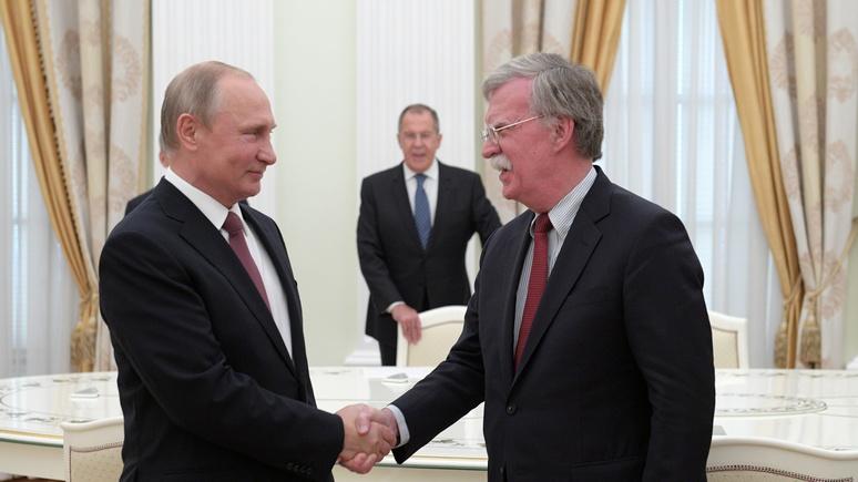 Guardian: Болтон договорился о встрече Трампа и Путина — но не в США или России