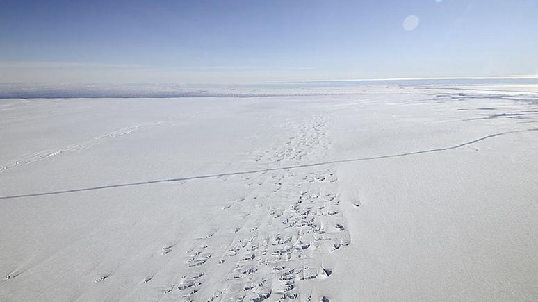 Forbes: в Антарктиде зафиксировали «инопланетно» низкую температуру