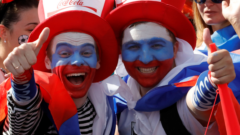 WP: американcких фанатов на ЧМ-2018 «приятно удивило дружелюбие россиян»