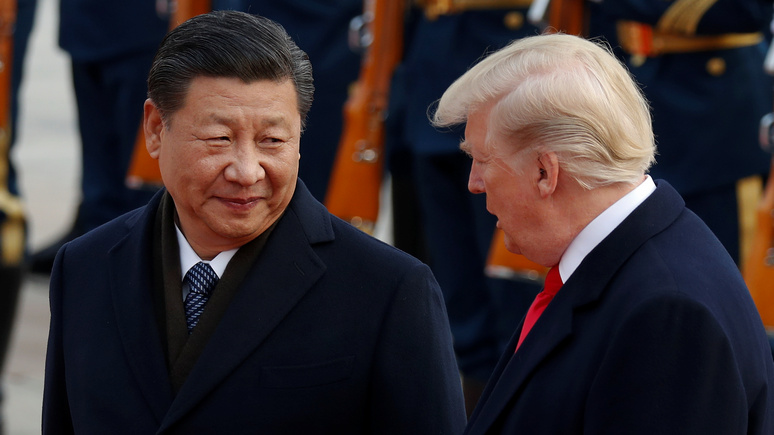 Times: политика Трампа рискует привести к поражению США в «торговой войне» с Китаем