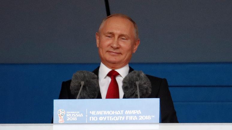 Обозреватель USA Today: «Не важно, что случится дальше, ведь Путин уже выиграл этот чемпионат»