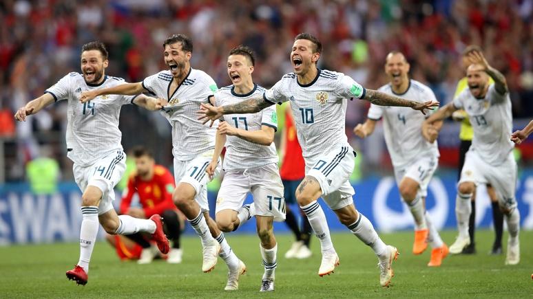 Страсть, тактика и усы — мировые СМИ объяснили, как россияне обыграли Испанию
