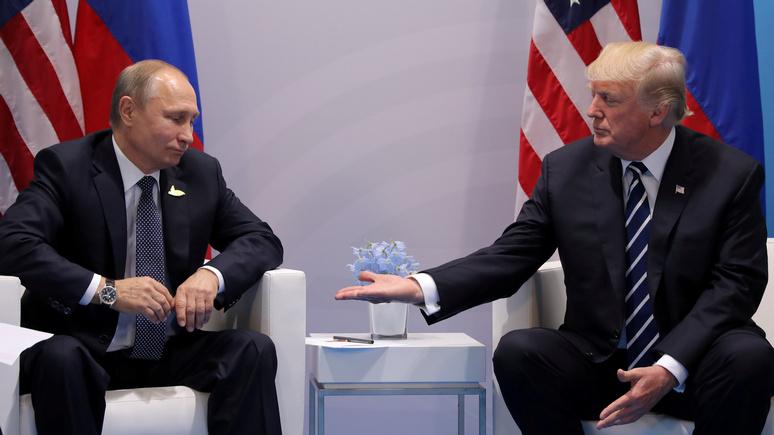Time: вопрос принадлежности Крыма Путин с Трампом обсуждать не собирается