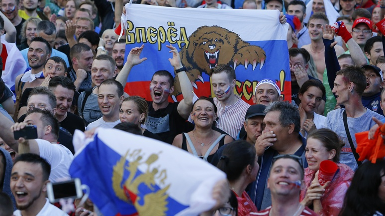 SZ: несмотря на свой менталитет, россияне верят в финал ЧМ-2018 с участием сборной