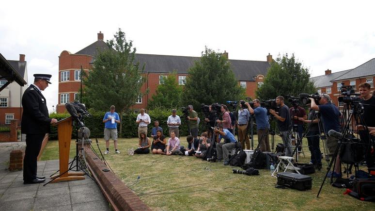 Guardian: британская полиция назвала «Новичок» причиной отравления в Эймсбери
