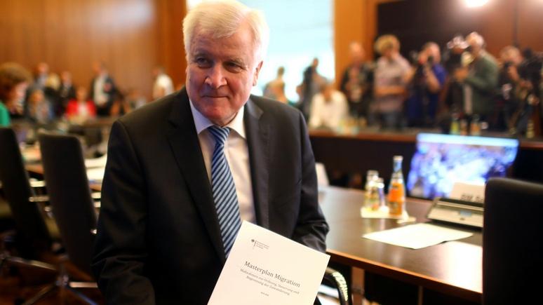 Das Erste: в Германии обнародован взрывоопасный план Зеехофера по миграции