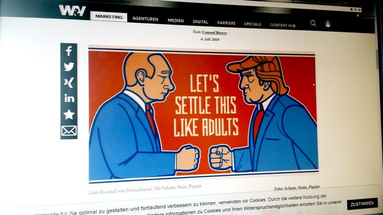 W&V: финские пивовары встретят Трампа и Путина особым пивом