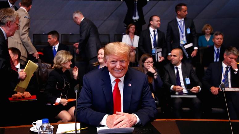 Мировые СМИ: по пути в Хельсинки Трамп взыскал долги с союзников по НАТО