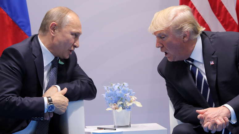 Wall Street Journal объяснила, что Путину нужно от Трампа