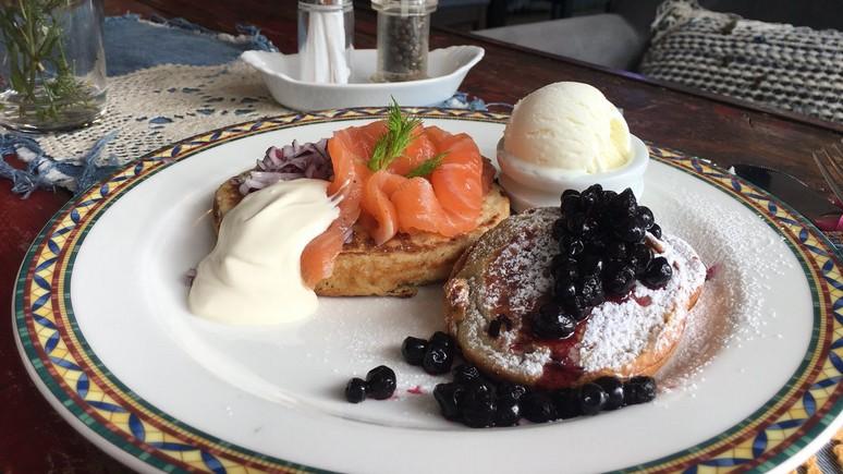 В одном из ресторанов Хельсинки появилось блюдо «Трумпутин»